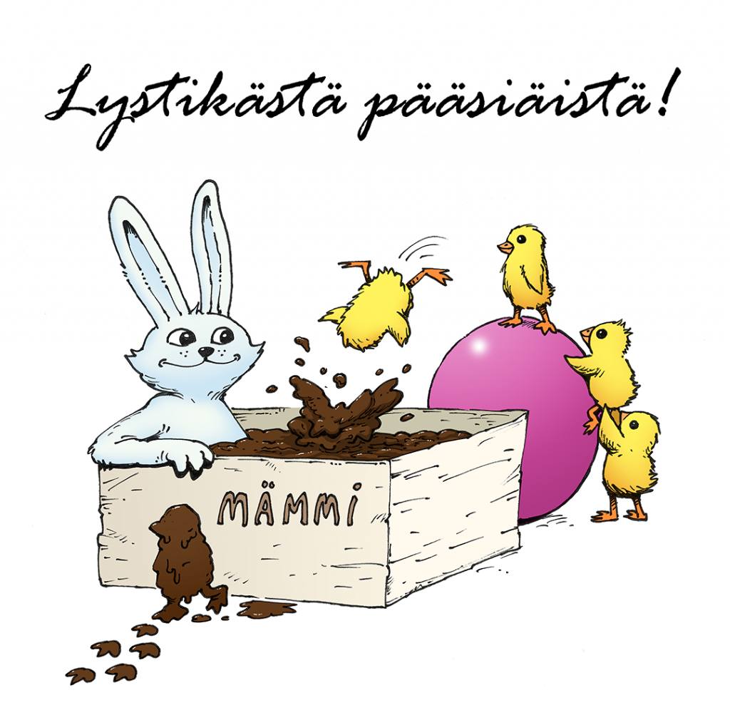 Pääsiäistoivotukset